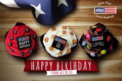 Abc Verjaardag.Abc Kaarten